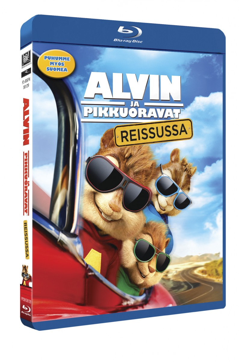 Alvin ja pikkuoravat reissussa
